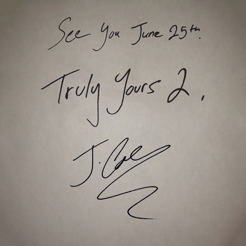 "#TodayInMusicHistory: J. Cole's ""Truly Yours 2"" Came Out 4 Years Ago"