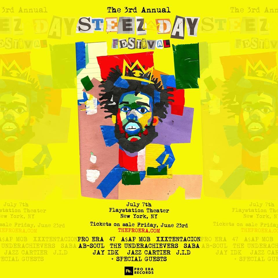 "Pro Era Records Announces Third Annual ""Steez Day""Festival"