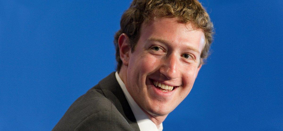 CEO Mark Zuckerberg says 2 BILLION people use Facebook–a MONTH!